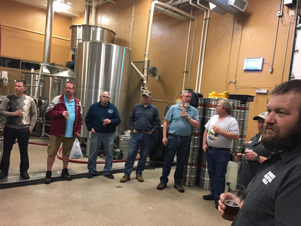 Home brew club at Canyon Creek Brewing